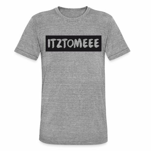 ItzTomeee Logo Black - Unisex Tri-Blend T-Shirt by Bella & Canvas