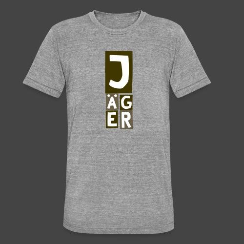 Der Jägerturm - original Jägershirt - Unisex Tri-Blend T-Shirt von Bella + Canvas