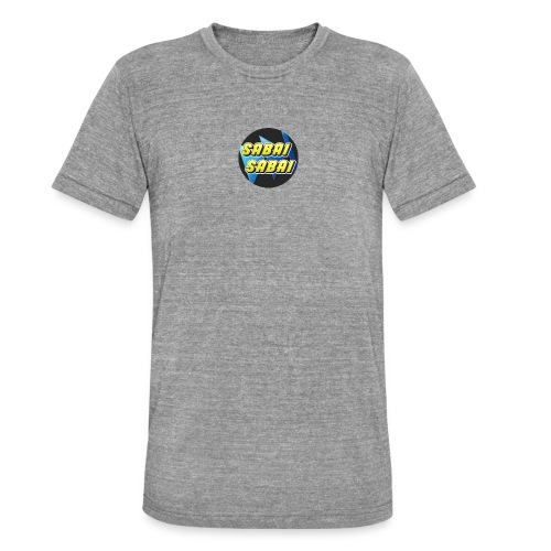 Logo Sabai New 2 1 - T-shirt chiné Bella + Canvas Unisexe
