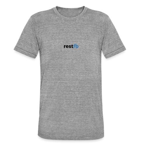 RestFB logo black - Unisex Tri-Blend T-Shirt by Bella & Canvas