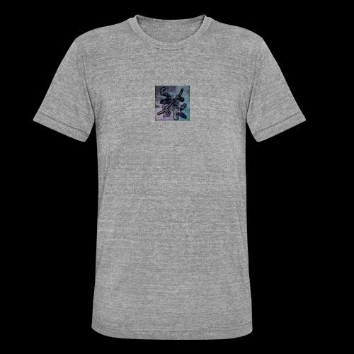 skate - Unisex tri-blend T-shirt van Bella + Canvas