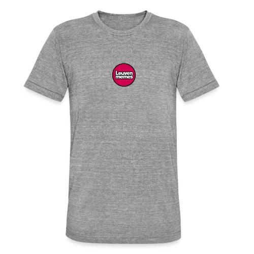 Logo LeuvenMemes - T-shirt chiné Bella + Canvas Unisexe