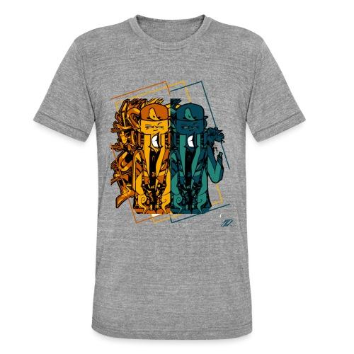 DemonSmile - COLL01 - AVR2K17 - T-shirt chiné Bella + Canvas Unisexe