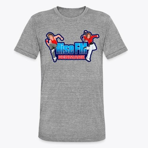 Rise FM Denmark Full Logo - Unisex tri-blend T-shirt fra Bella + Canvas