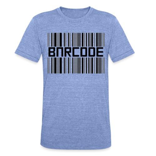 BARCODE WHITE - Unisex Tri-Blend T-Shirt by Bella + Canvas