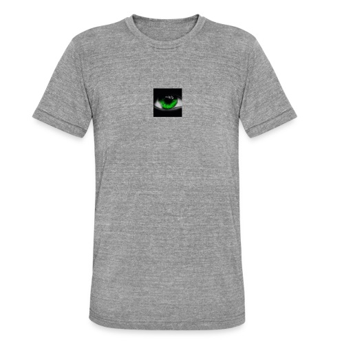 Green eye - Unisex Tri-Blend T-Shirt by Bella & Canvas