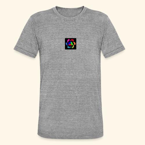 logo - Maglietta unisex tri-blend di Bella + Canvas