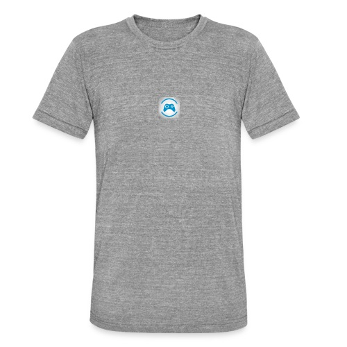 mijn logo - Unisex tri-blend T-shirt van Bella + Canvas