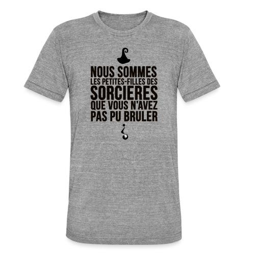 filles de sorcières - T-shirt chiné Bella + Canvas Unisexe
