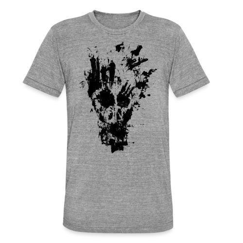 FANCY SKULL - Unisex Tri-Blend T-Shirt by Bella & Canvas