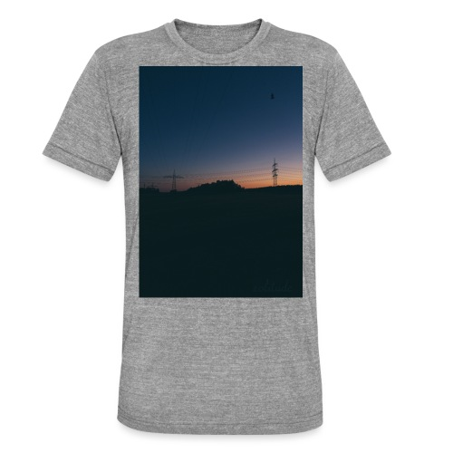 SolitudeOne - Unisex Tri-Blend T-Shirt by Bella & Canvas