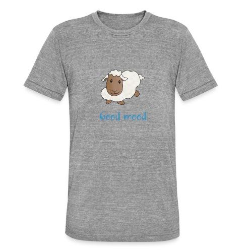 Nadège le petit mouton blanc - T-shirt chiné Bella + Canvas Unisexe