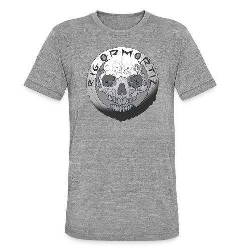 Rigormortiz Black and White Design - Unisex Tri-Blend T-Shirt by Bella & Canvas