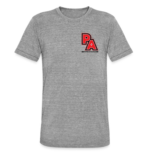 PA Logo - Unisex Tri-Blend T-Shirt by Bella & Canvas