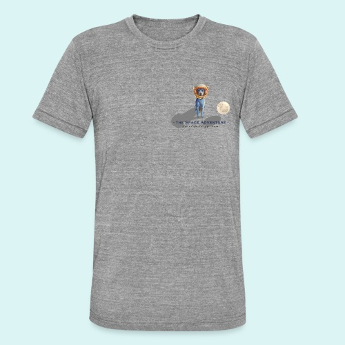 The Space Adventure - Unisex Tri-Blend T-Shirt by Bella + Canvas