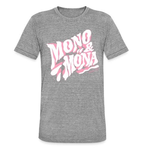 mono y mona - Camiseta Tri-Blend unisex de Bella + Canvas