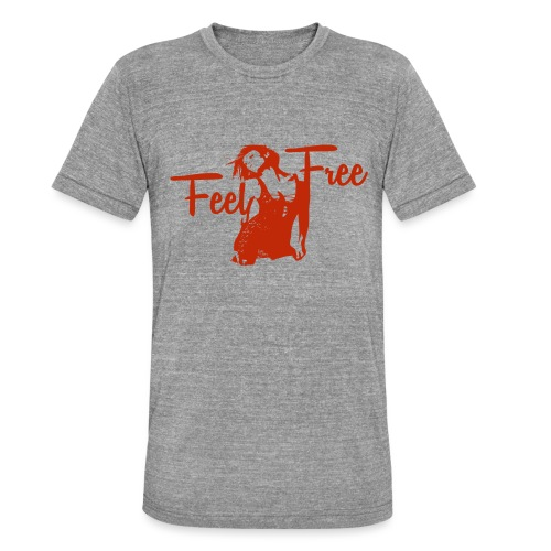 sexy girl feel free hot woman - Unisex Tri-Blend T-Shirt von Bella + Canvas