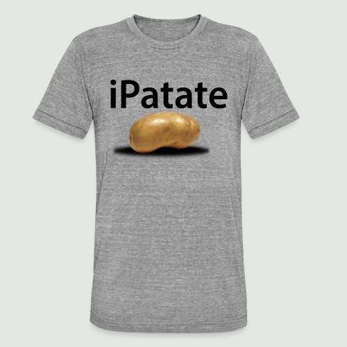 iPatate - T-shirt chiné Bella + Canvas Unisexe