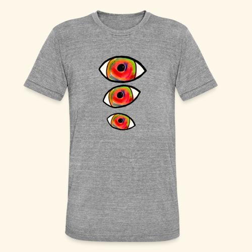 trompe L'oeil_Pastel - T-shirt chiné Bella + Canvas Unisexe