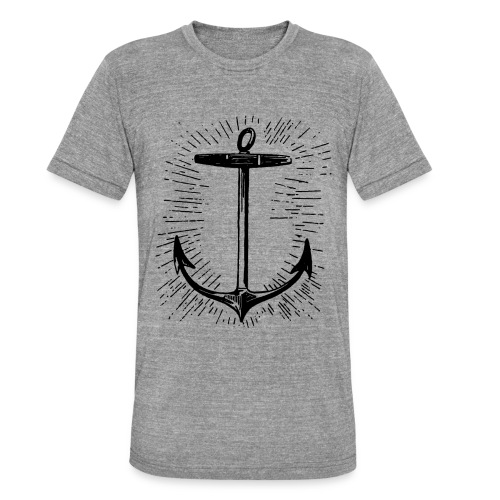 anchor - Camiseta Tri-Blend unisex de Bella + Canvas