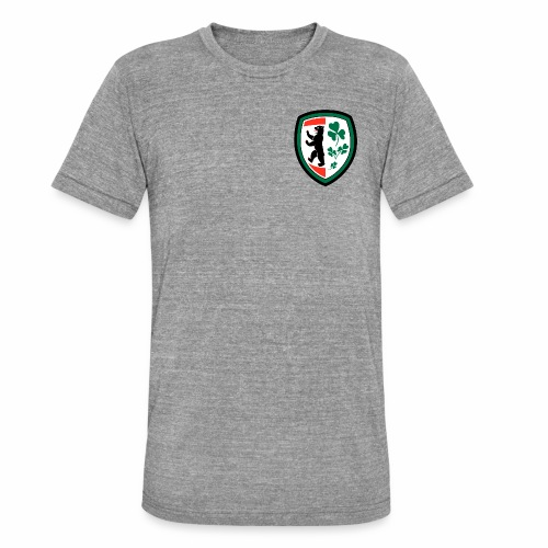 Berlin Irish D1 - Camiseta Tri-Blend unisex de Bella + Canvas