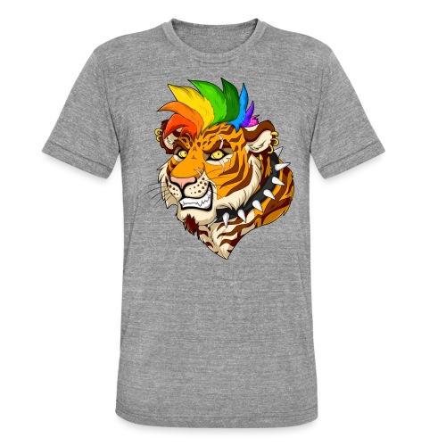 Punk Tiger - Koszulka Bella + Canvas triblend – typu unisex
