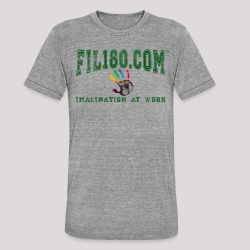 FIL180 HOODY GREEN - Unisex Tri-Blend T-Shirt by Bella & Canvas