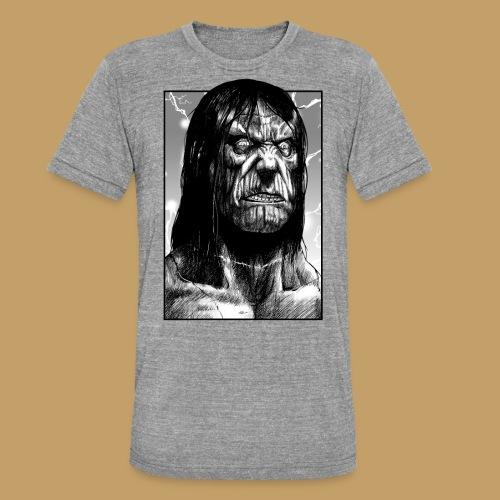 Frankenstein's Monster - Koszulka Bella + Canvas triblend – typu unisex