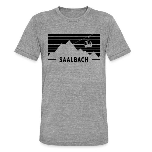 Saalbach Stripes - Unisex tri-blend T-shirt van Bella + Canvas