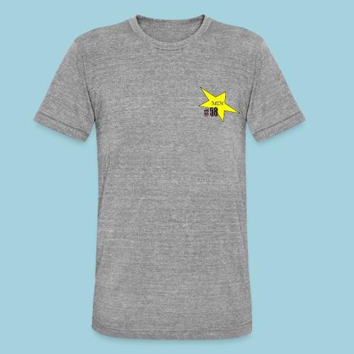 MCN Stern - Unisex Tri-Blend T-Shirt von Bella + Canvas