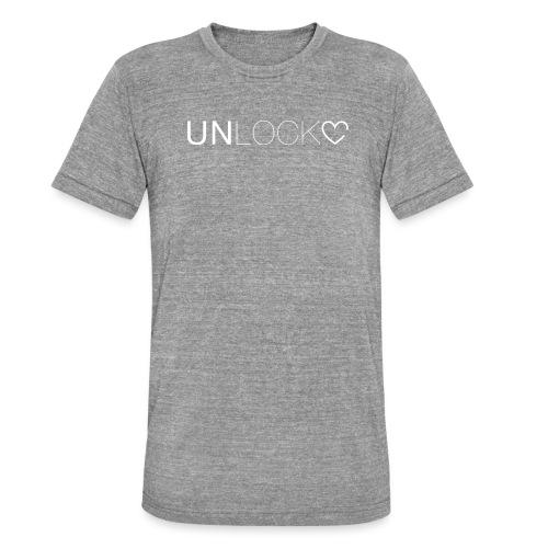 Unlock - Maglietta unisex tri-blend di Bella + Canvas