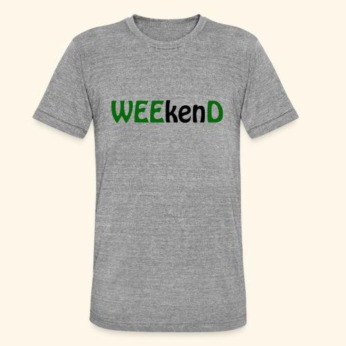 weed - Unisex Tri-Blend T-Shirt von Bella + Canvas