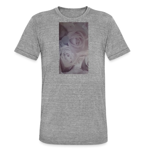 perfect pink rose's - Unisex Tri-Blend T-Shirt by Bella & Canvas