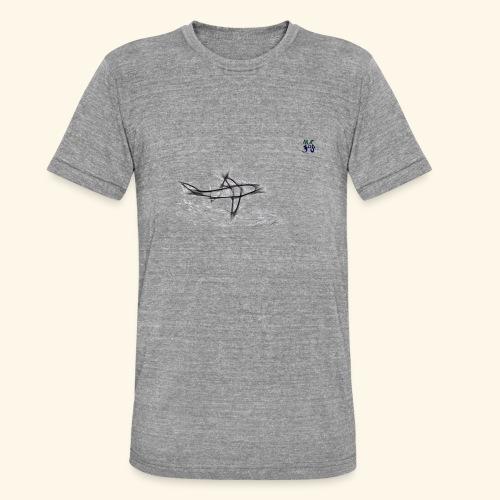 shark 03 21 - Unisex Tri-Blend T-Shirt by Bella & Canvas
