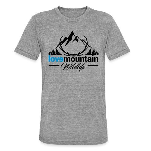 Mountain - Maglietta unisex tri-blend di Bella + Canvas