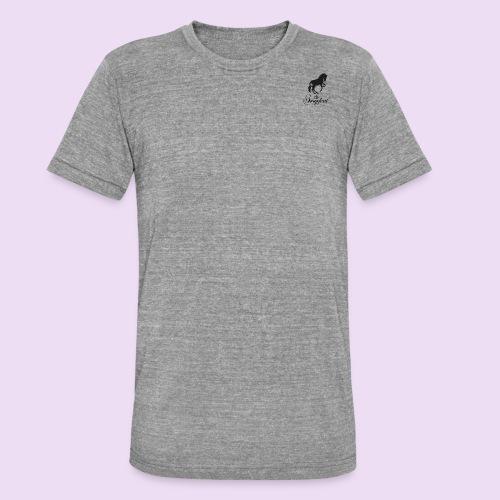 schriftzug_schwarz - Unisex Tri-Blend T-Shirt von Bella + Canvas