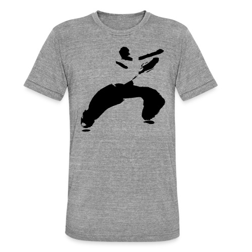 kung fu - Unisex Tri-Blend T-Shirt by Bella & Canvas