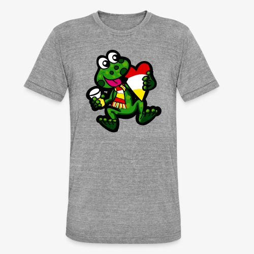 Oeteldonk Kikker - Unisex tri-blend T-shirt van Bella + Canvas