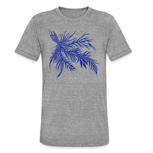 fireleaf 2018 1 - Unisex Tri-Blend T-Shirt von Bella + Canvas