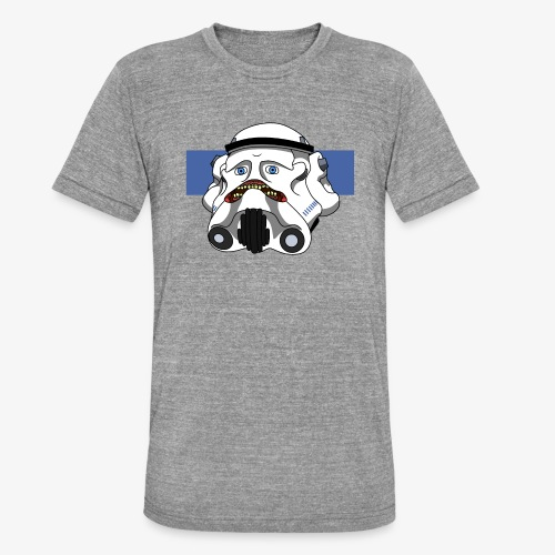 The Look of Concern - Unisex Tri-Blend T-Shirt by Bella & Canvas