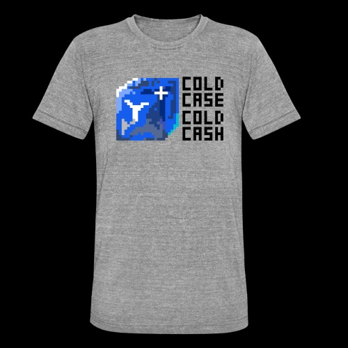 COLDCASH - Unisex tri-blend T-shirt van Bella + Canvas
