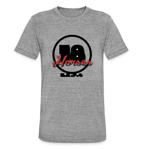 18 Horses - NKPG (Black) - Triblend-T-shirt unisex från Bella + Canvas