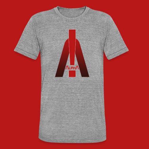 ALPHA - Winner wins! - Unisex Tri-Blend T-Shirt von Bella + Canvas
