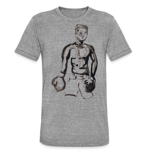 Muhammed Ali - T-shirt chiné Bella + Canvas Unisexe