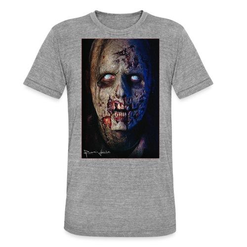 Zombie 01 - T-shirt chiné Bella + Canvas Unisexe