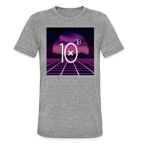 Synthwave Tee - Koszulka Bella + Canvas triblend – typu unisex
