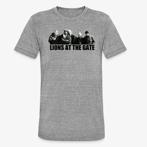 LIONS AT THE GATE SHIRT (WHITE) - Unisex tri-blend T-shirt van Bella + Canvas