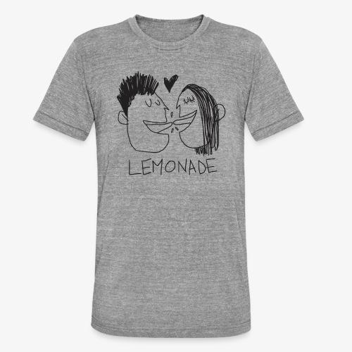 Lemonade Kiss - Maglietta unisex tri-blend di Bella + Canvas
