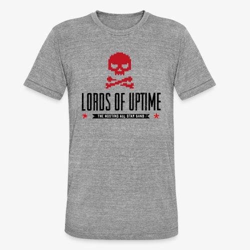 Lords of Uptime black - Unisex Tri-Blend T-Shirt von Bella + Canvas