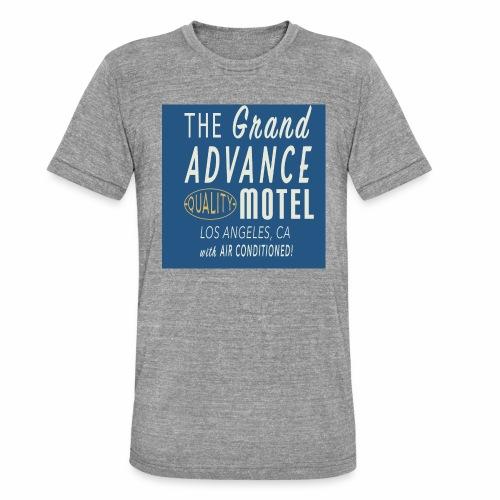 ADVANCE MOTEL - T-shirt chiné Bella + Canvas Unisexe
